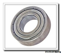 25 mm x 52 mm x 15 mm  SKF BSA 205 CG-2RZ thrust ball bearings