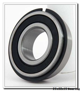 25 mm x 52 mm x 15 mm  KOYO 6205-2RD deep groove ball bearings