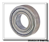 30 mm x 62 mm x 16 mm  ISO 7206 A angular contact ball bearings