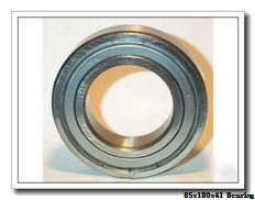 85 mm x 180 mm x 41 mm  FBJ 6317-2RS deep groove ball bearings
