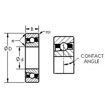 AST H7021AC angular contact ball bearings