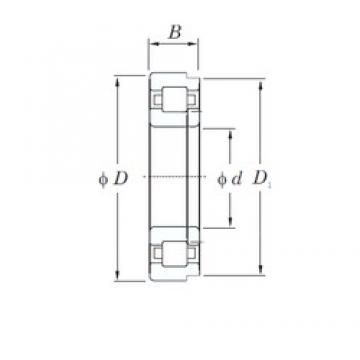 80 mm x 140 mm x 33 mm  KOYO NUP2216 cylindrical roller bearings
