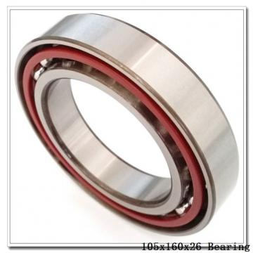 105 mm x 160 mm x 26 mm  ISO NUP1021 cylindrical roller bearings