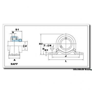 AST NU1021 M cylindrical roller bearings