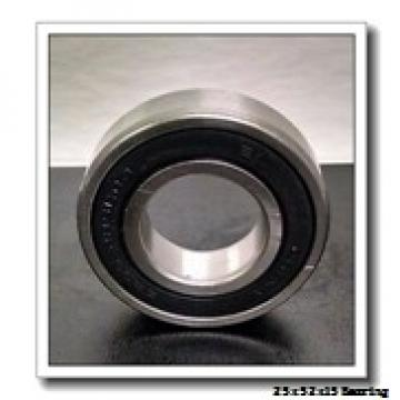 25 mm x 52 mm x 15 mm  NACHI 7205BDB angular contact ball bearings