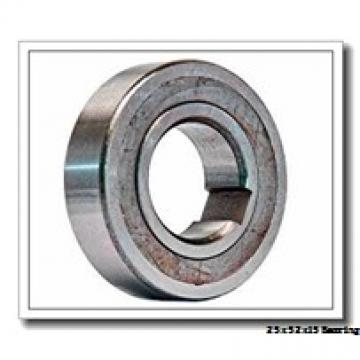 25 mm x 52 mm x 15 mm  KOYO 6205N deep groove ball bearings