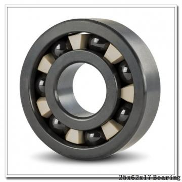 25 mm x 62 mm x 17 mm  NTN 7305BDT angular contact ball bearings