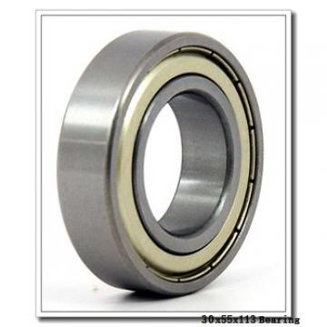 30 mm x 55 mm x 13 mm  NTN 7006UG/GMP4 angular contact ball bearings