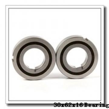 30 mm x 62 mm x 16 mm  NACHI 7206BDB angular contact ball bearings