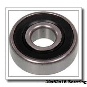 30 mm x 62 mm x 16 mm  FAG 6206 deep groove ball bearings