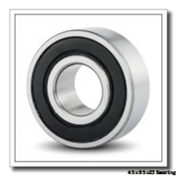 45 mm x 85 mm x 23 mm  ISO NU2209 cylindrical roller bearings