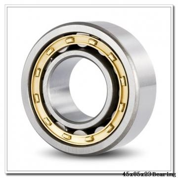 45 mm x 85 mm x 23 mm  Loyal 22209 KCW33+H309 spherical roller bearings