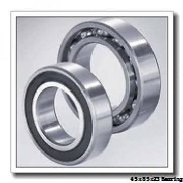 45 mm x 85 mm x 23 mm  NACHI NJ 2209 cylindrical roller bearings