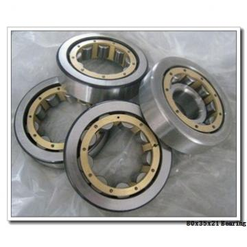 35 mm x 80 mm x 21 mm  SKF NUP 307 ECP thrust ball bearings