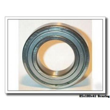 85 mm x 180 mm x 41 mm  ISO 7317 B angular contact ball bearings