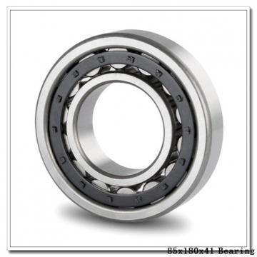 85 mm x 180 mm x 41 mm  ISO 7317 A angular contact ball bearings