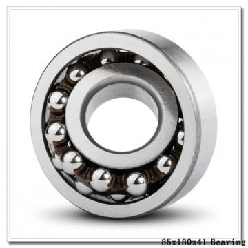 85 mm x 180 mm x 41 mm  NACHI 6317-2NK deep groove ball bearings