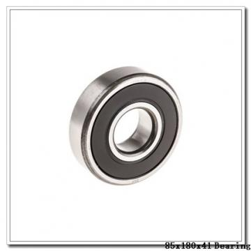85 mm x 180 mm x 41 mm  NTN 6317NR deep groove ball bearings
