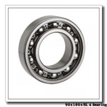 90 mm x 160 mm x 52,4 mm  NKE 3218 angular contact ball bearings