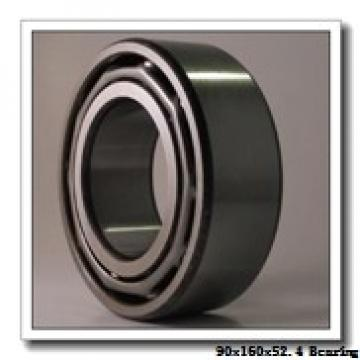 90 mm x 160 mm x 52,4 mm  NKE 23218-K-MB-W33+AHX2318 spherical roller bearings