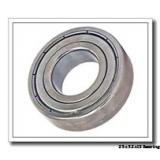 25 mm x 52 mm x 15 mm  NKE 6205 deep groove ball bearings