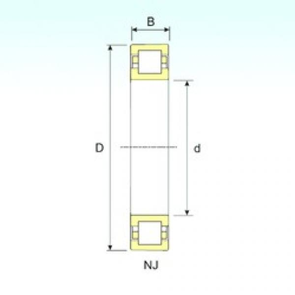 45 mm x 85 mm x 23 mm  ISB NUP 2209 cylindrical roller bearings #3 image