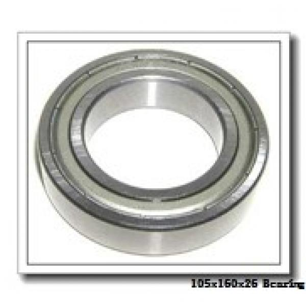 105 mm x 160 mm x 26 mm  KOYO HAR021CA angular contact ball bearings #1 image