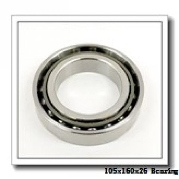 105 mm x 160 mm x 26 mm  KOYO HAR021CA angular contact ball bearings #2 image
