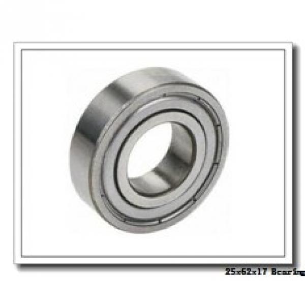 25 mm x 62 mm x 17 mm  ISO NU305 cylindrical roller bearings #1 image