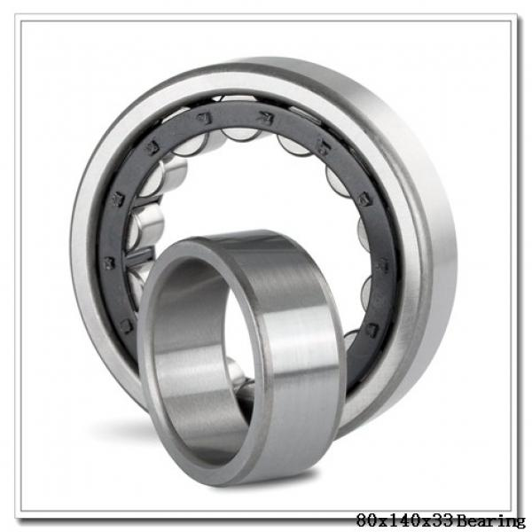 80 mm x 140 mm x 33 mm  NSK NUP2216 ET cylindrical roller bearings #2 image