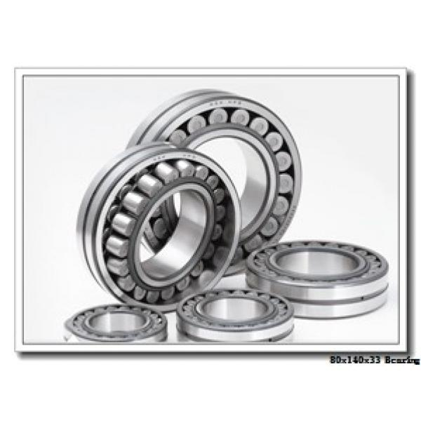80 mm x 140 mm x 33 mm  ISO NJ2216 cylindrical roller bearings #2 image
