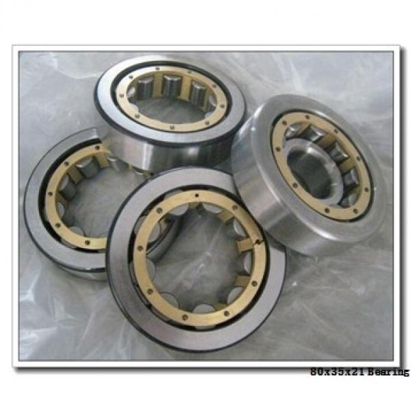 35 mm x 80 mm x 21 mm  SKF QJ 307 MA angular contact ball bearings #1 image