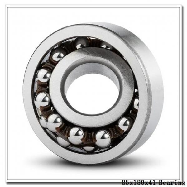 85 mm x 180 mm x 41 mm  ISO NJ317 cylindrical roller bearings #2 image