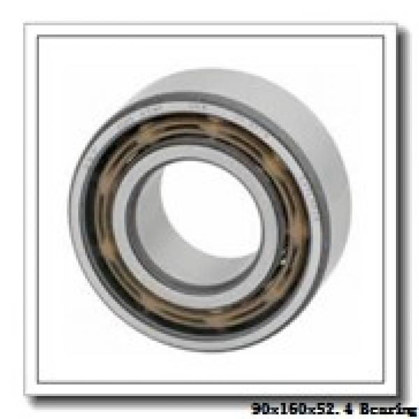 90 mm x 160 mm x 52,4 mm  Loyal NU3218 cylindrical roller bearings #1 image